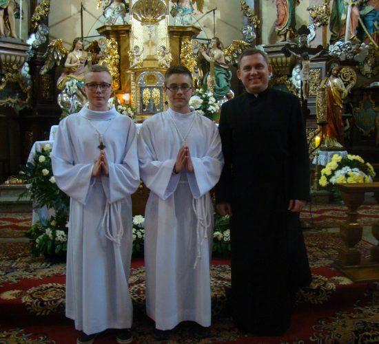Nowi lektorzy w naszej parafii