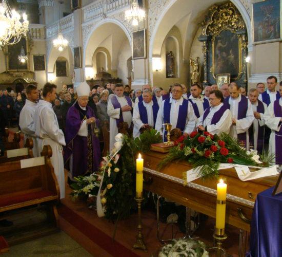 Uroczystości pogrzebowe o. Jerzego Górala SP