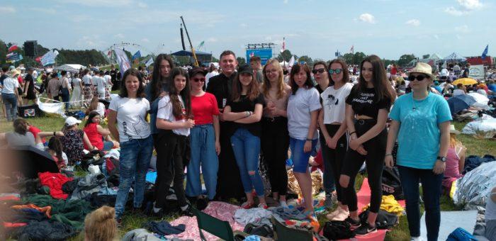 Młodzież na Lednicy