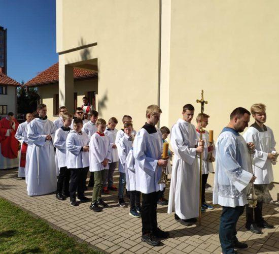Nasi Ministranci również byli na Jeleniogórskim dniu skupienia Liturgicznej Służby Ołtarza…