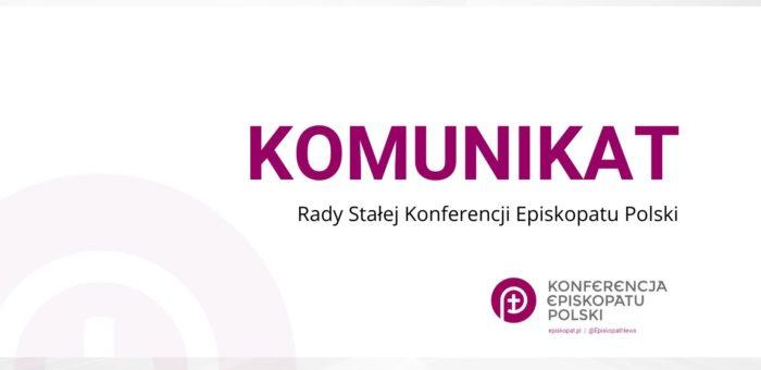 Komunikaty Konferencji Episkopatu Polski