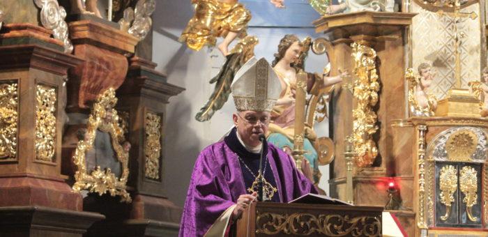 Relacja z wizytacja Biskupa Zbigniewa Kiernikowskiego w naszej Parafii (13.12.2020)